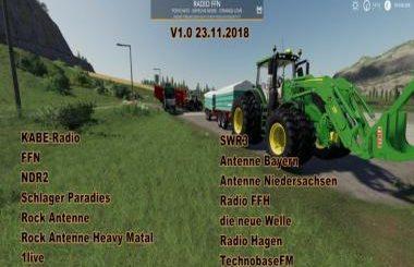 RADIO   Farming Simulator 2019 mods, Farming Simulator 2017