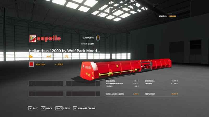 CAPELLO HELIANTHUS 12000 V1 0 0 0