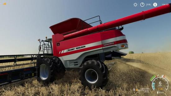 AGCO ROTARY COMBINES PACK V1 0