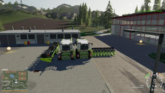 CLASS LEXION 780 WITH CAPACITY SELECTION AND CUTTERS V 1 1
